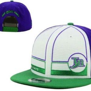 Rare New Era Topps Tampa Rays 1983 Hat 9Fifty Cap
